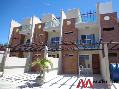 Imagem 1 de 14 de Vcp00350 Casa Condominio Real De Buzios  Triplex Com Solariu