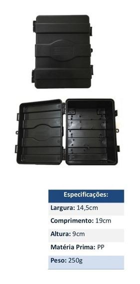 Kit 10 Caixas Hermetica P Poste Padrão Telecom Provedor