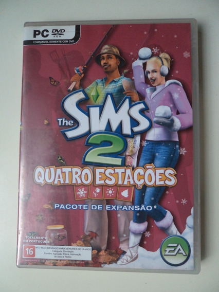 The Sims 2 Quatro Estações Original - Pc