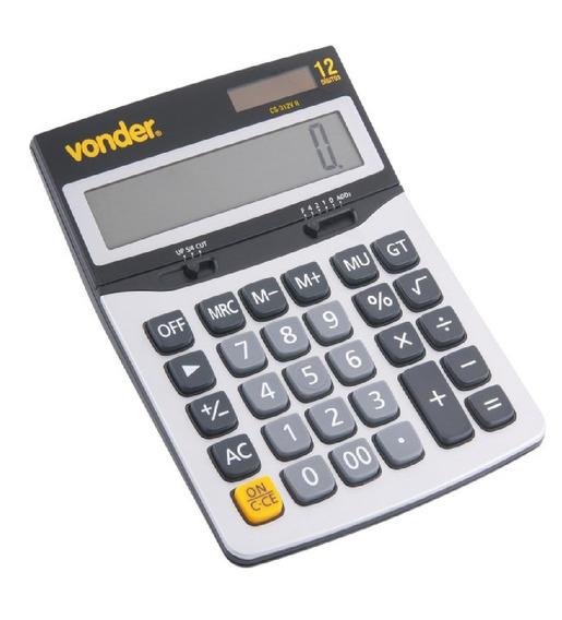 Calculadora De Mesa 12 Digitos Cs 312vii Vonder