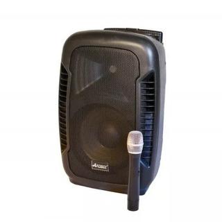 Bafle Potenciado Apogee Bt-210 100w Bluetooth Mic Bat Oferta