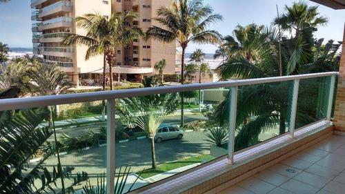 Apartamento Com 3 Dormitórios À Venda, 120 M² Por R$ 2.650.000,00 - Riviera - Módulo 7 - Bertioga/sp - Ap1179