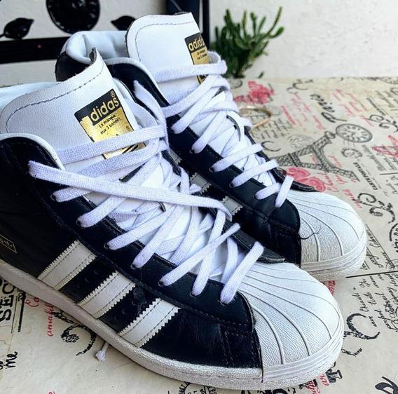 Zapatillas adidas Superstar Botitas Mujer - Talle 38