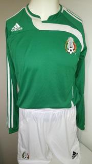 Jersey Mexico 2007 Primer adidas Y Short De Juego