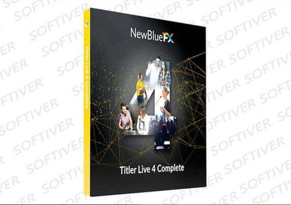Newbluefx Titler Live 4 Complete 4 Broadcast Versão 2020