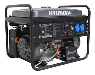 Grupo Electrogeno Hyundai 6800fe Pot 6,5 Kva 12v 220volts