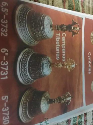 Campana Tibetana De Bronce 6 1800