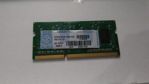 Memoria Ram Ddr3 Novatech Original 2gb 1333mhz