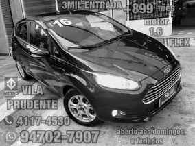 Ford New Fiesta Hatch 1.6 16v Flex 5p 3mil Entrada+899mes