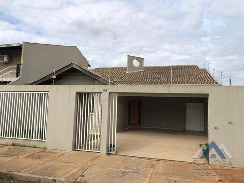 Imagem 1 de 25 de Casa No Coliseu Com 3 Dormitórios À Venda, 195 M² Por R$ 670.000 - Coliseu - Londrina/pr - Ca1558