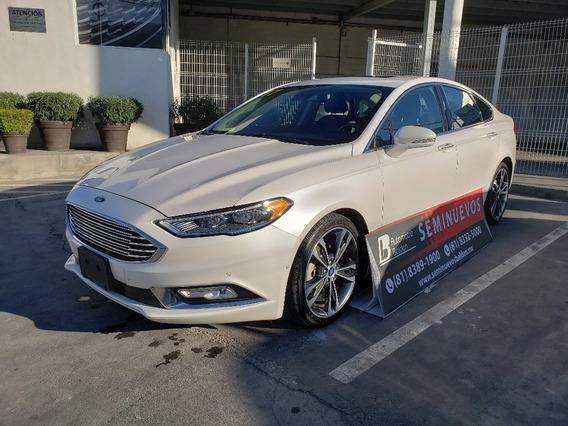 Sedan Ford Fusion Titanium Plus 2017