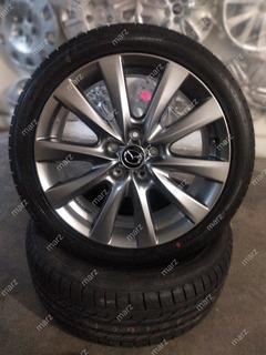 Rin 18 Aluminio De Mazda 3 Sedan Mod 2020 Con Llanta