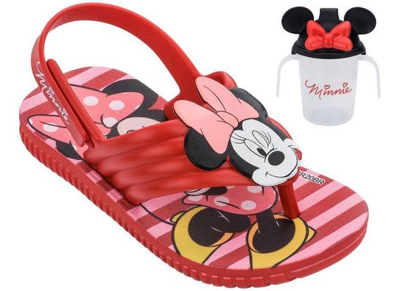 Grendene Disney Minnie Copinho 22165 Chinelo Infantil Menina