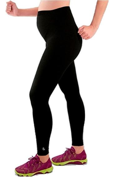 Calzas Supplex Ultra Cintura Reforzada P/ Embarazada & Mamis