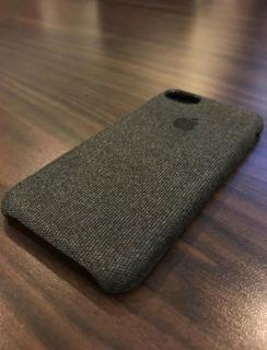 Case Textura De Tecido iPhone 5/6/6p/7/7p/8/8p/x/xr/xsmax