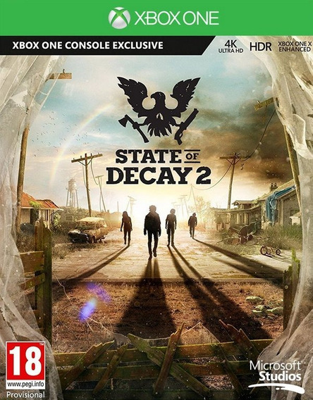State Of Decay 2 Xbox One Codigo 25 Digitos