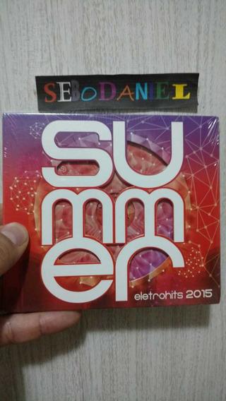 Cd Summer Eletrohits 2015 - Original E Lacrado!digipack