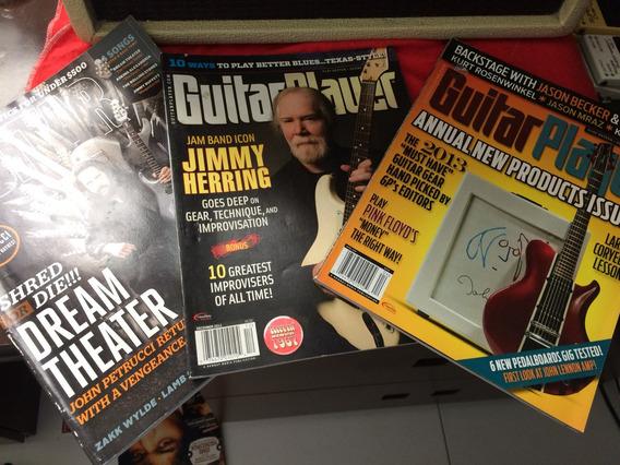 Coleção De Revistas Guitar Player Importadas 3 Unidades