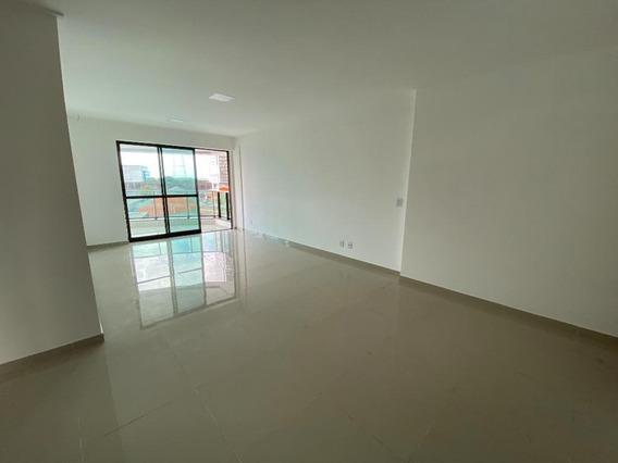 Apartamento Em Boa Vista, Recife/pe De 122m² 3 Quartos Para Locação R$ 3.000,00/mes - Ap549798