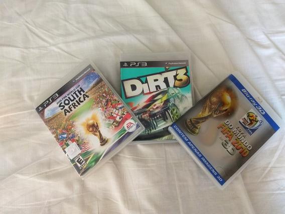 Super Pack Jogos Ps3 E Blu Ray (colecionador)