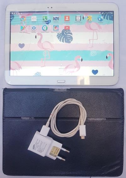 Tablet Samsung Tab 3 Modelo Gt-p5200 16gb E Chip *leia Tudo*
