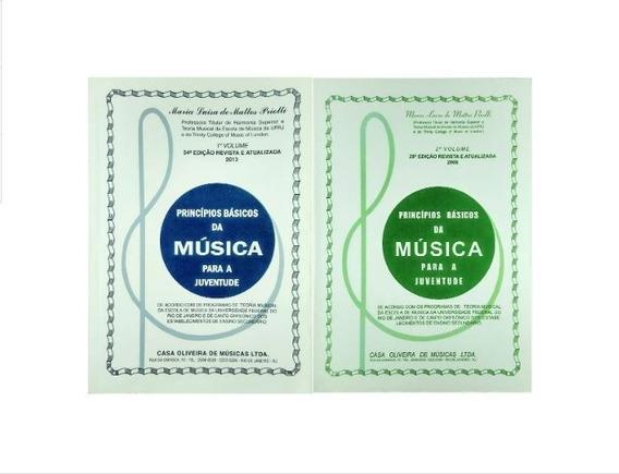 Combo - Princípios Básicos Da Música Juventude Vol.1 E Vol.2