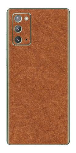 Imagem 1 de 1 de Película Skin Galaxy Note 20 (6.7) Kingshield 3d Madeira