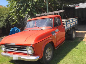 Chevrolet C-10 Motor 6 Cilindros Ano 1972