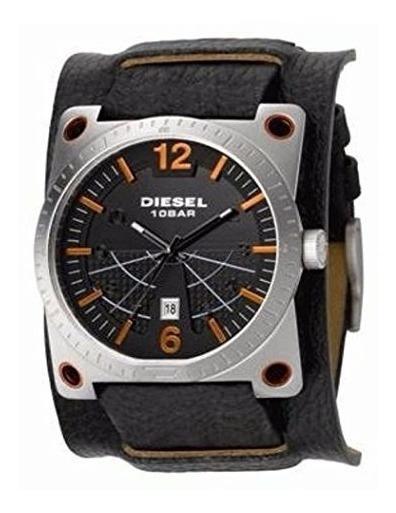 Relógio Diesel Couro Dz 1212 Original