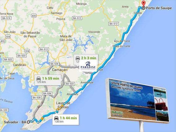 Terreno, Porto De Sauipe, Entre Rios - R$ 350.000,00, 0m² - Codigo: 27600 - V27600