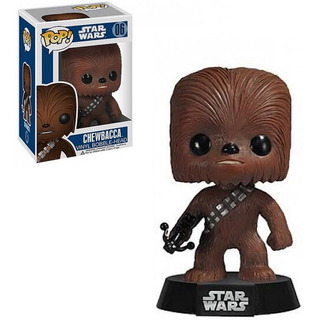Muñeco Funko Pop Chewbacca Bobble 06 Star Wars Original