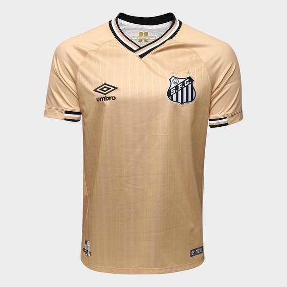Nova Camisa Santos Dourada 2018 !!! Frete Grátis