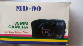 Câmera Fotográfica Md 90 35mm (kit C/10)nova