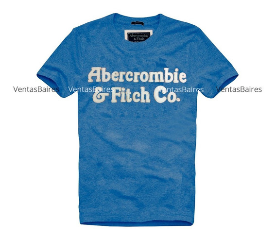 Remeras Hollister Y Abercrombie Bordadas Con Relieve A00153
