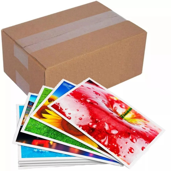 50 Folhas Papel Fotográfico Glossy 135g Prova Dágua