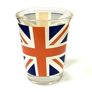 Souvenir Union Jack Shot Glass Por British Delights