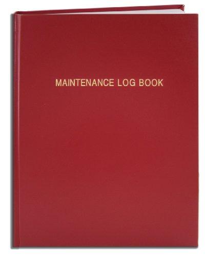 Libro De Registro De Mantenimiento De Bookfactory - 120