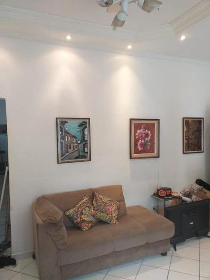 Casa Com 2 Dormitórios À Venda, 116 M² Por R$ 375.000 - Campo Grande - Santos/sp - Ca0121
