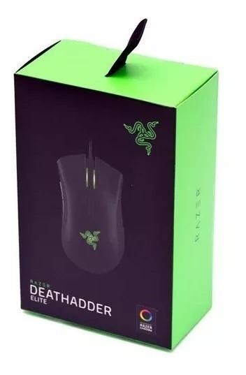 Mouse Gamer Razer Deathadder Elite Chroma 16.000dpi 7 Botões