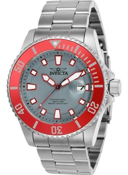Invicta Pro Diver 90291 44 Mm Todo Em Aco Original