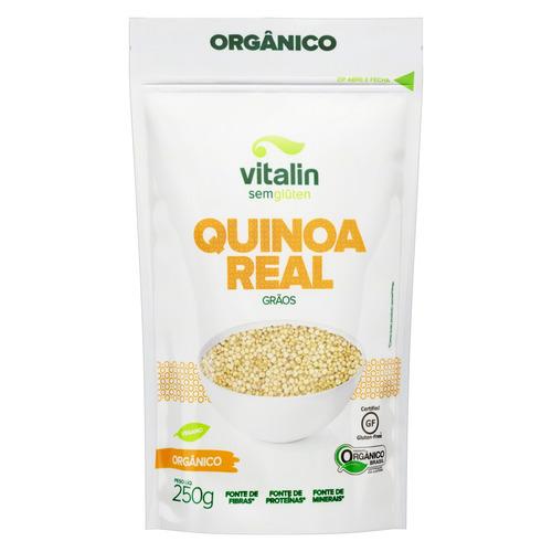 Quinoa Real em Grãos Orgânica Vitalin Pouch 250g