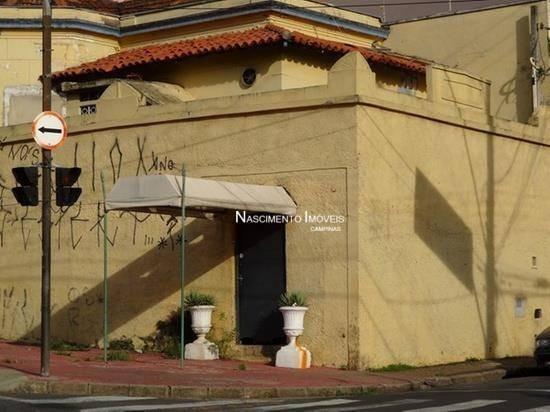 Casa Comercial À Venda, Centro, Campinas. - Ca0163