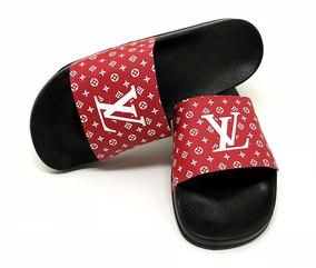 Chinelo Lv Louis Vuitton Frete Grátis Em Até 12x Lançamento