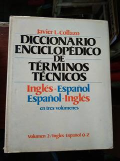 Diccionario Enciclopedico Terminos Tecnicos Ingles Español