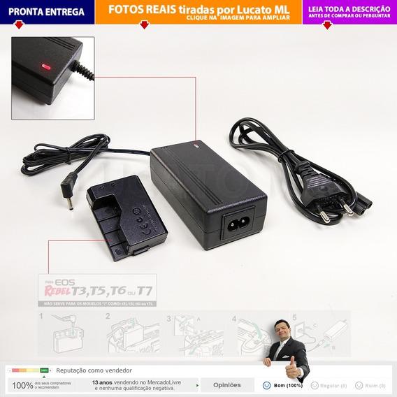 Eliminador Bateria P/ Canon T3 T5 T6 Não (i) Lpe10 Acke10 Np