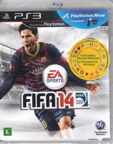 Game Ps3 Fifa 14 - Original - Novo - Lacrado