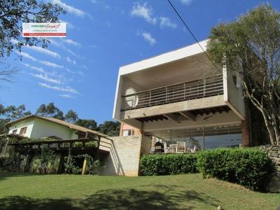 Casa A Venda No Bairro Jd. Itatiaia Em Embu Das Artes - Sp. - Ca0369-1