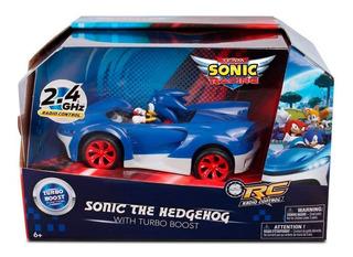 Sonic Sega Turbo Radio Control Team Sonic Racing