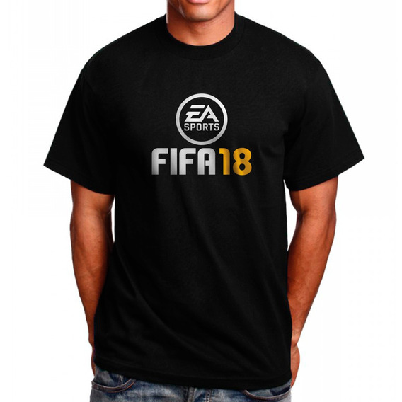 Camiseta Fifa18 Camisa Fifa 18 Jogo
