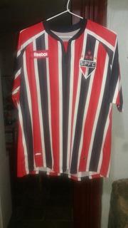 Camisa De Jogo Do São Paulo Futebol Clube 10 Rbk